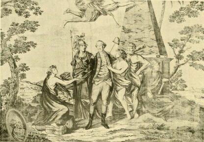 Toile de Jouy Madame du deffand
