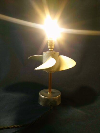 Lampe upcycing l'Artésien