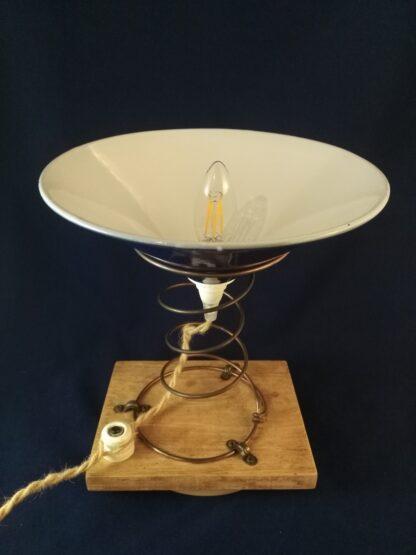 Lampe upcycling Marie Brûlart