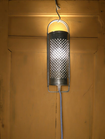 Lampe upcycling Denis Monnet