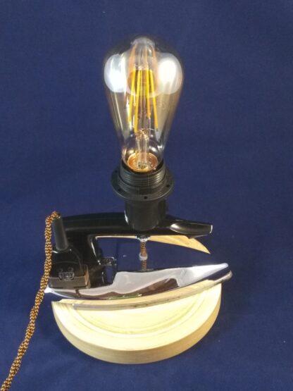 Lampe upcycling Rose Bertin