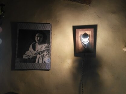 Lampe upcycling Garlieb Merkel