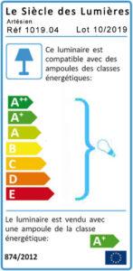 Etiquette énergie