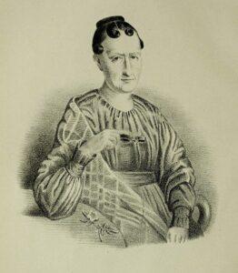 Gravure de Marie-Anne Libert