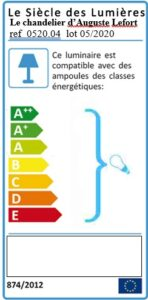 Etiquette énergie Auguste Lefort