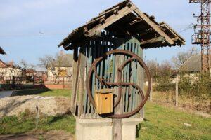 L'eau du puits du village