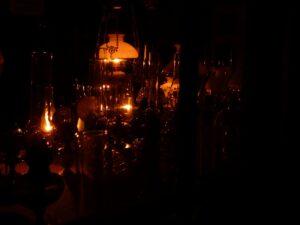 lampes à pétrole