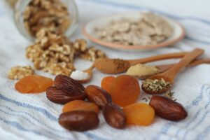 fruits secs pour la cuisine sucrée