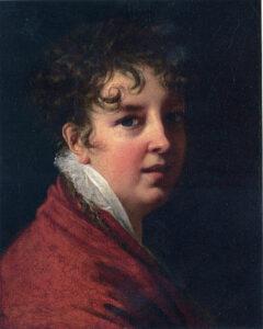 La femme peintre Elisabeth Vigée-LE Brun