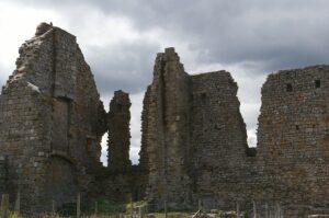 Cheminée château Moyen-Âge
