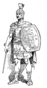 La chaussure romaine